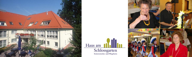 Seniorenwohn- und Pflegeheim Haus am Schlossgarten